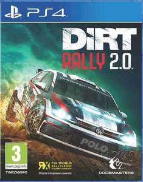 Gra PS4 DiRT Rally 2.0 wersja PL