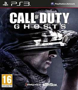 CALL OF DUTY GHOSTS PS3 NOWA FOLIA