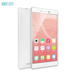 "IUNI i1 3000mAh 32GB 5.2"" 2.5D Full HD 1920X1080p Snapdragon 801 2GB RAM 13MP 4G LTE"