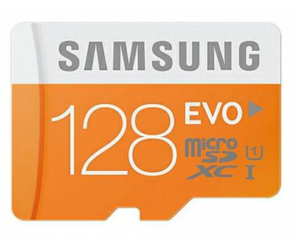 Samsung 128GB microSDXC Evo odczyt 48MB/s + adapter SD @x kom