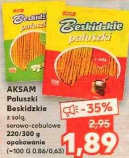 Paluszki Beskidzkie 220/300g. Kaufland