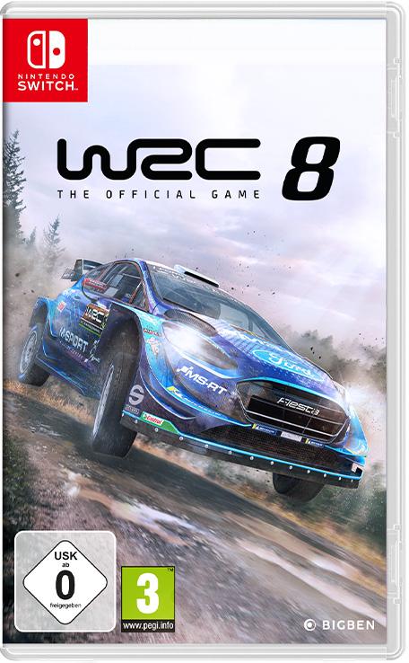 Gry wyścigowe na Nintendo Switch: WRC 8 FIA World Rally Championship i V-Rally 4
