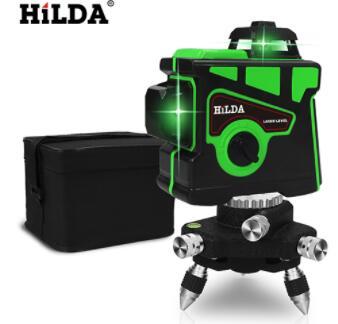 Laser samopoziomujący HILDA (12 linii) z wysyłką z Polski @AliExpress