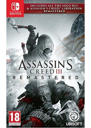 Assasin's Creed 3 Remastered - Nintendo Switch za 99,77 z BASE €20.08