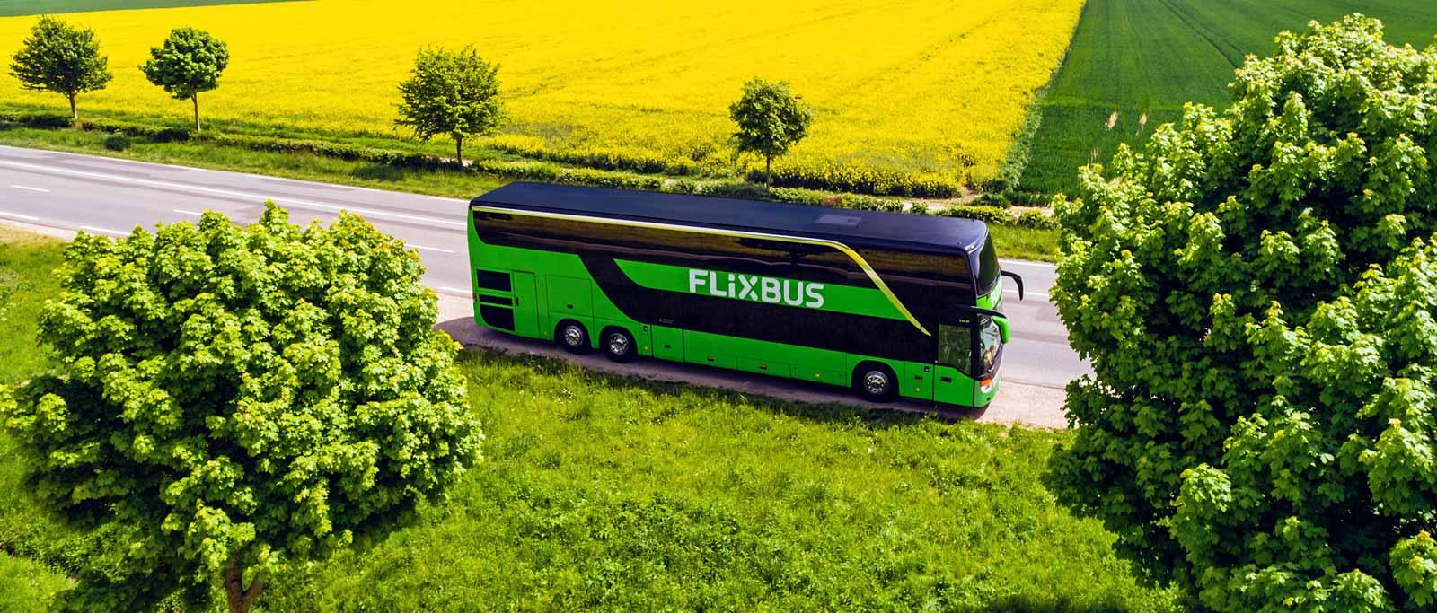 Flixbus zaczął sprzedawać bilety do krajów bałtyckich i do Polski! od 5 eur