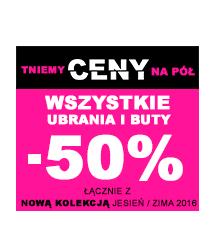 SMYK - tniemy ceny ubrań i butów o 50%