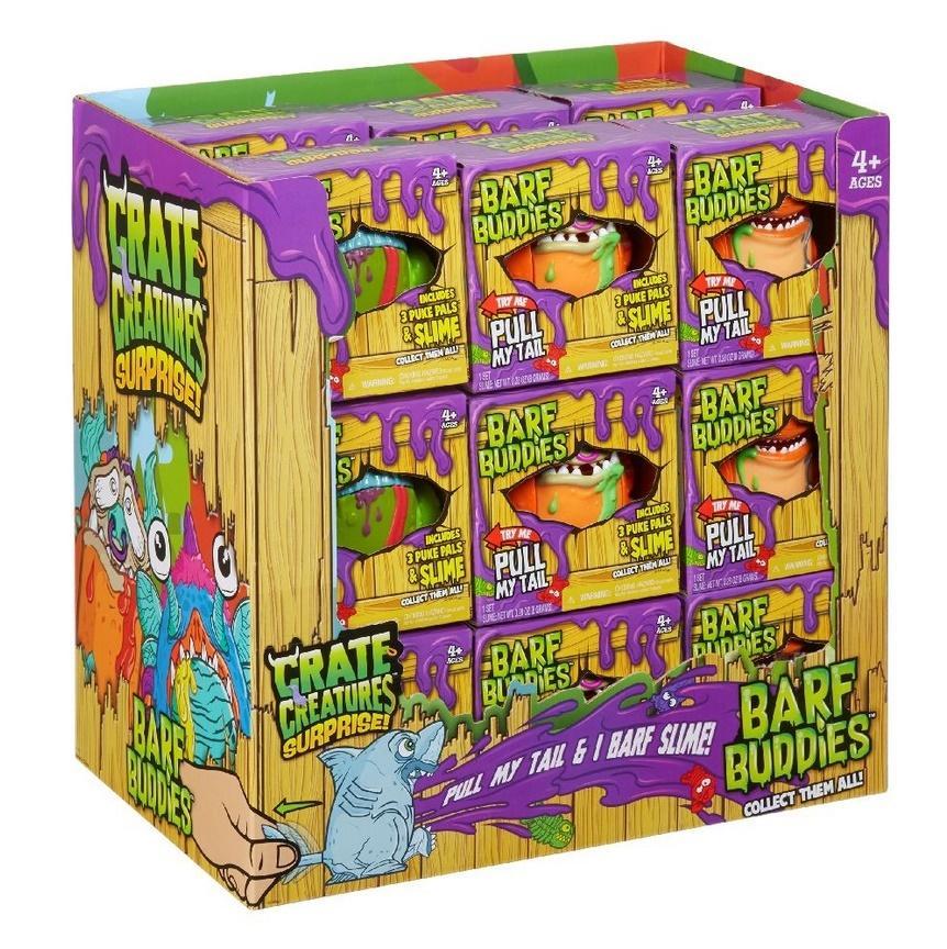 36 sztuk Figurek ! Crate Creatures Surprise Barf Buddies S1