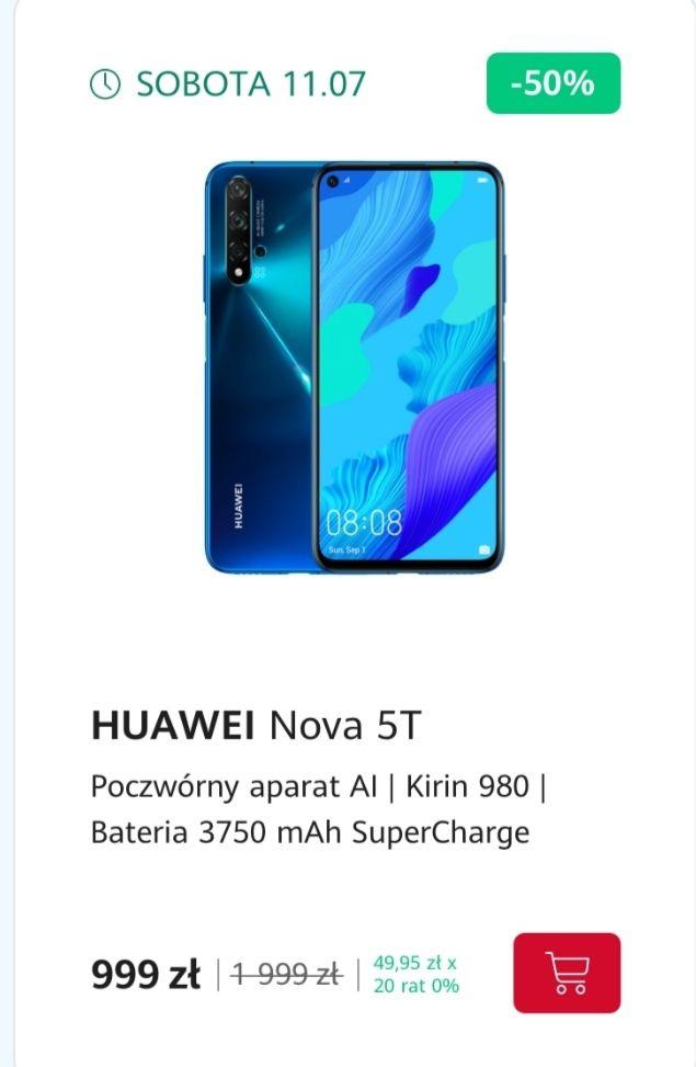 Huawei Nova 5T 6/128, oficjalny sklep Huawei