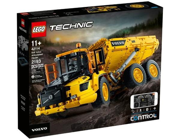 42114 LEGO Technic Wozidło przegubowe Volvo 6x6 @ Gandalf.com.pl