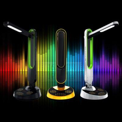 Lampka biurkowa LED + panel dotykowy + muzyka @Gearbest