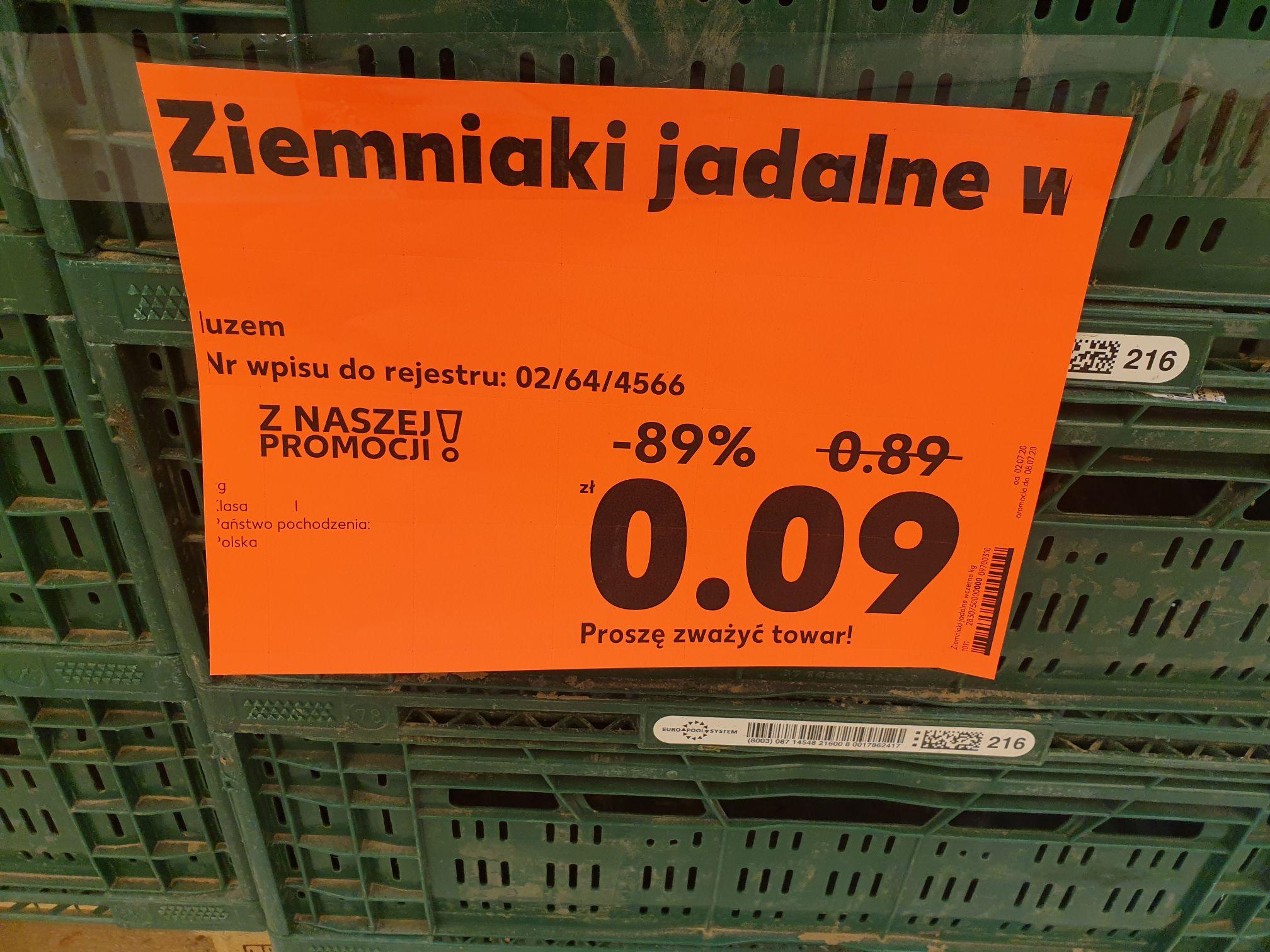 Ziemniaki w kaufland