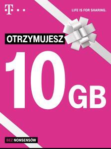 T-Mobile 10GB dla firm
