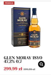 Whisky GLEN MORAY 18YO 47,2% 0,7 W Alkooutlet