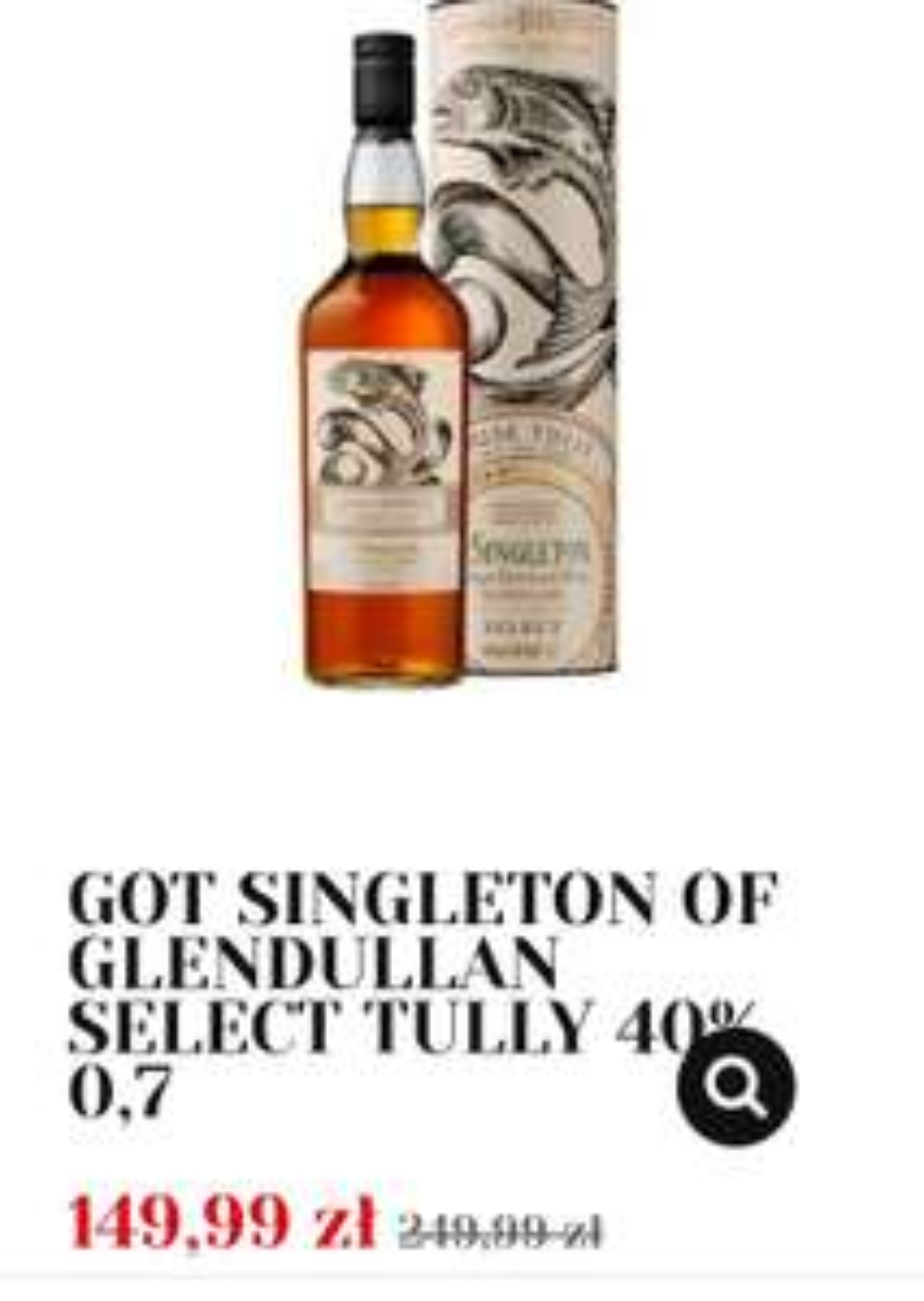Whisky z serii GOT w Alkooutlet linki w opisie