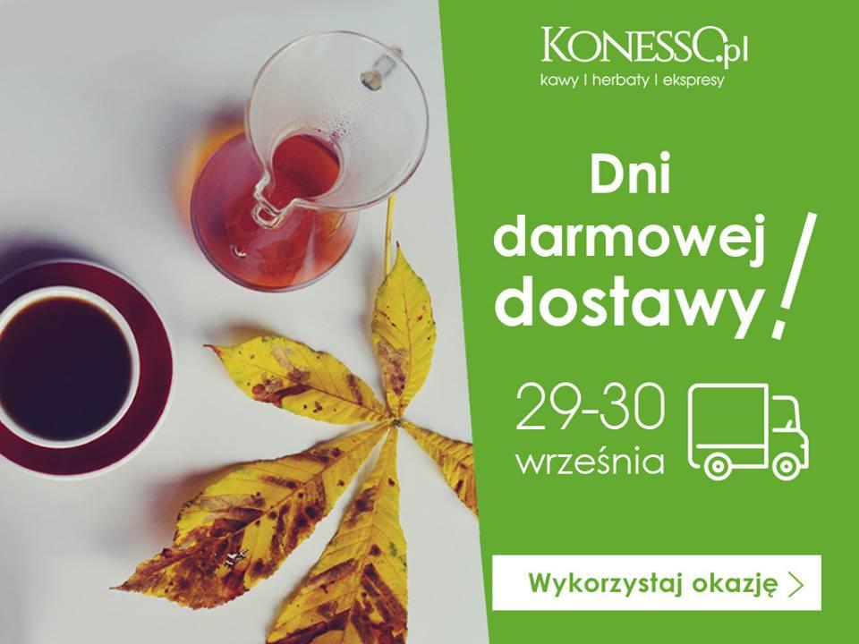 www.konesso.pl - 29 i 30 września, dzień darmowej dostawy