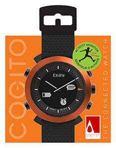 Smartwatch Cogito Classic Orange @Amazon.co.uk