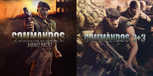 Commandos 2+3 i Commandos Ammo Pack -75% na GOG.COM