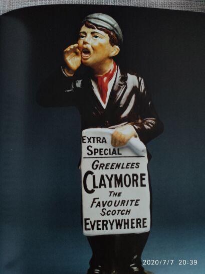 Whisky Claymore 40% 1L dla tych co na morzu...