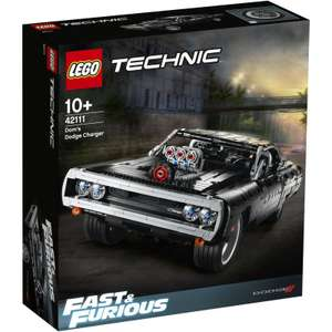 """LEGO 42111 TECHNIC DOM""""S DODGE CHARGER"""