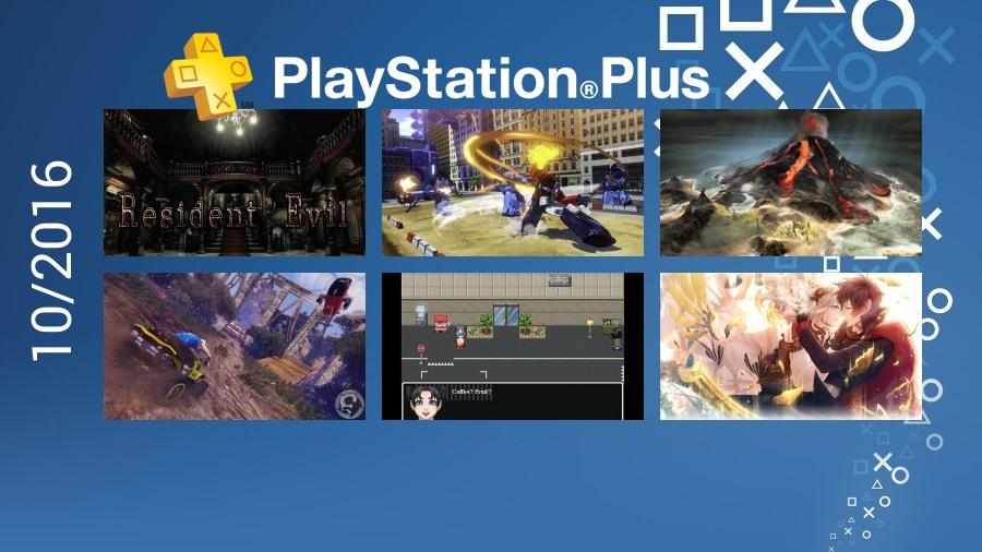 PlayStation Plus - Październik 2016