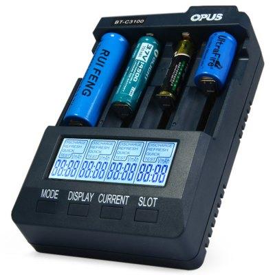Niezależna ładowarka do każdego typu akumulatorków, Opus BT - C3100