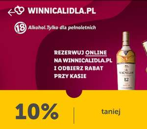 -10% alkohole mocne w Winnicy Lidla, whisky, whiskey, brandy, rum, gin