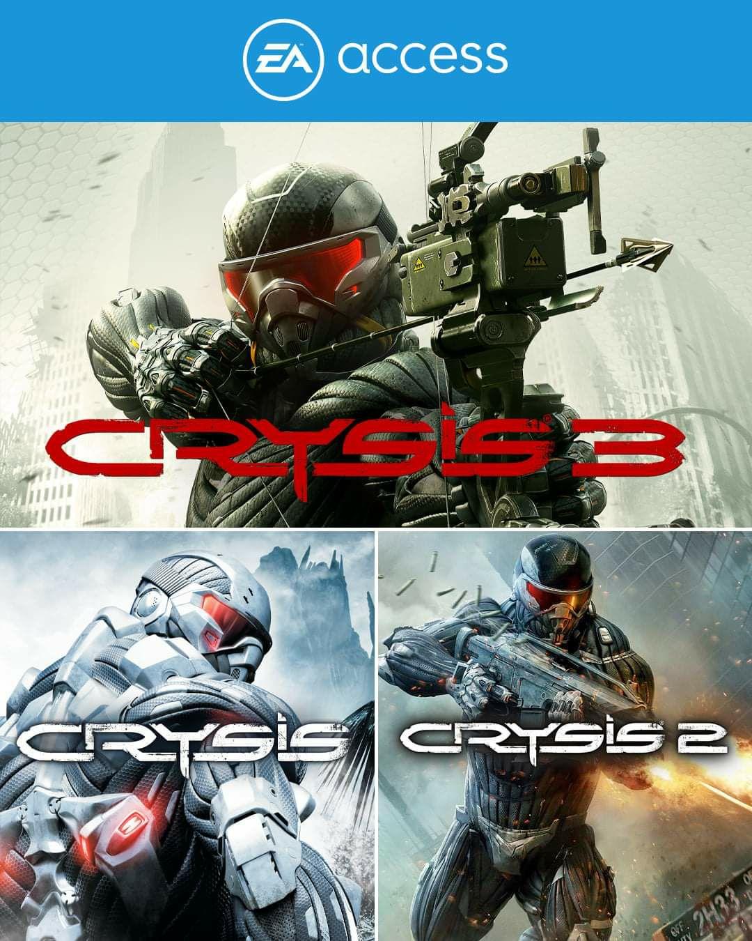 Trylogia Crysis dostępna w EA Access na Xbox One