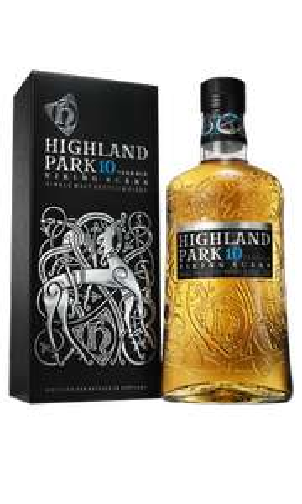 HIGHLAND PARK VIKING SCARS 10 YO Winnica Lidla - CZYTAJ OPIS - Whisky