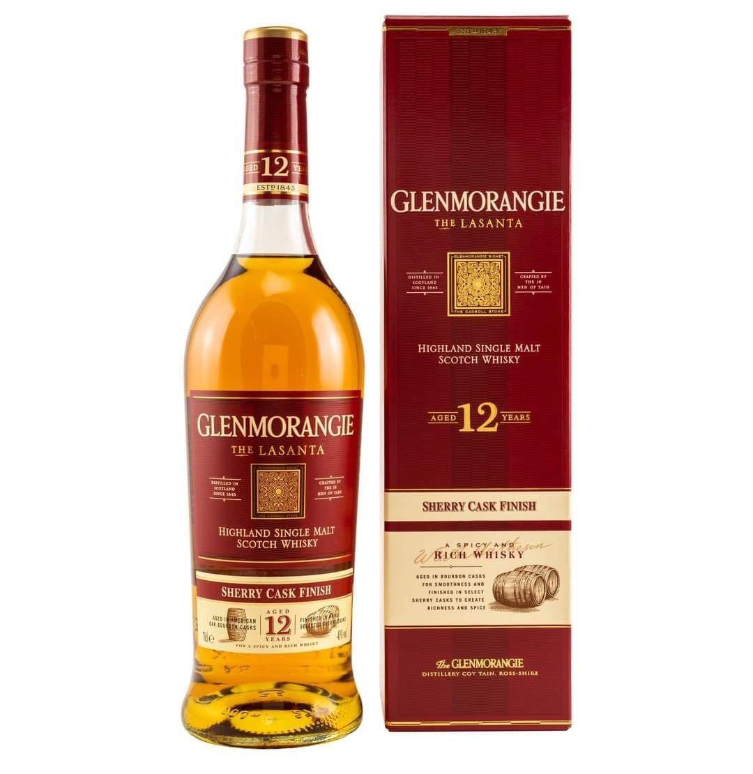 Whisky Glenmorangie Lasanta 12YO 0,7 Szczyrba Alkohole Slask