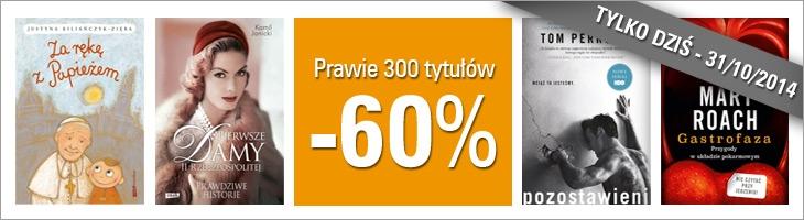 (AKTUALIZACJA)ponad 300 książek 60% taniej @ Znak.com.pl