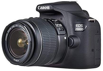 Canon EOS 2000D, 377,51 €