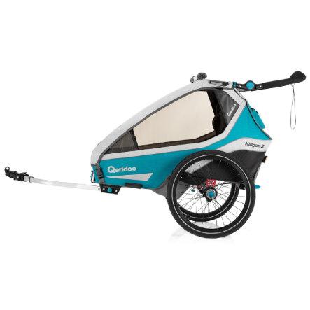 Przyczepka rowerowa Qeridoo Kidgoo2 za 2339,10zł @ Pink or Blue