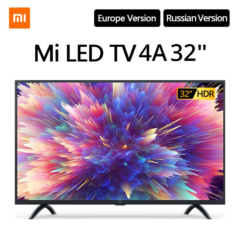"""Xiaomi Smart Mi LED 4A TV 32"""" HD HDR wysyłka z Hiszpanii 1.5GB/8GB Netflix Google WiFi Android 9"""
