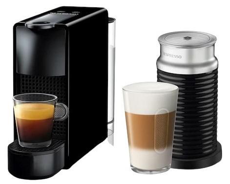 Ekspres Nespresso C30 Essenza Mini XN1118 ze spieniaczem do mleka @Komputronik