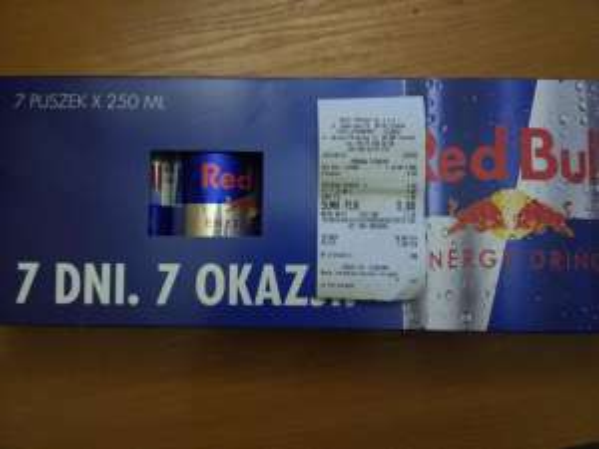 Red Bull 7x250ml za 9zł TESCO