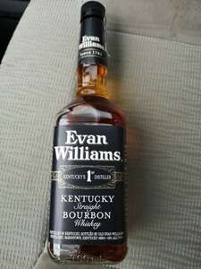 Whiskey/burbon Evan Williams 0.7l TESCO