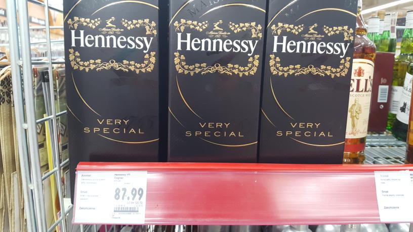 koniak Hennessy 0.7 w super cenie