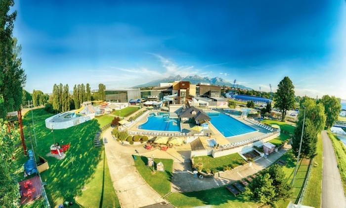 Całodzienny bilet wstępu do słowackiego AquaCity Poprad (ważny do 15.09) @Groupon
