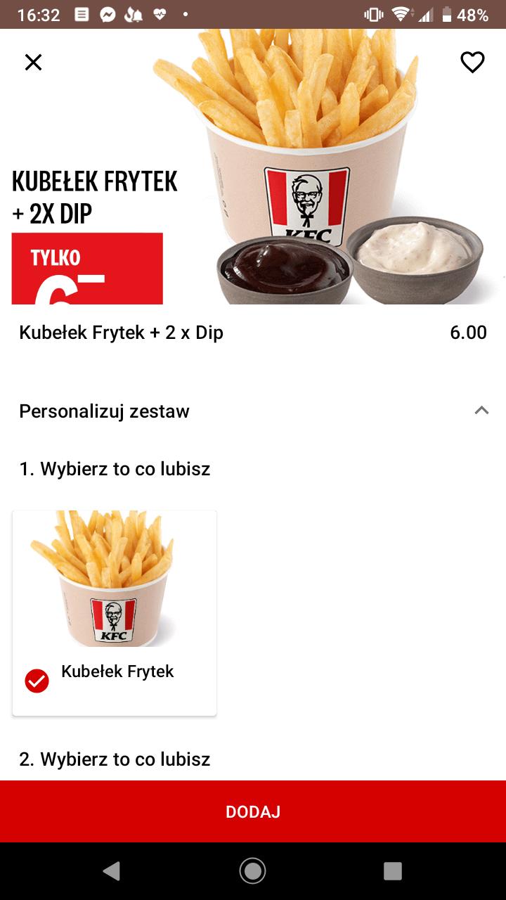 Święto frytek KFC