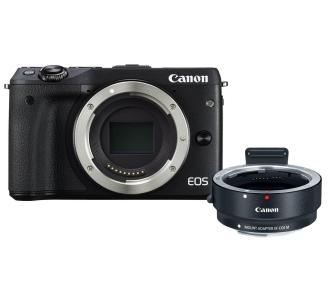 Aparat Canon M3 + adapter na obiektywy EF (+ plecak o wartości 350zł, 200zł do wydania w 4F oraz 100zł na kolejne zakupy) @ Euro