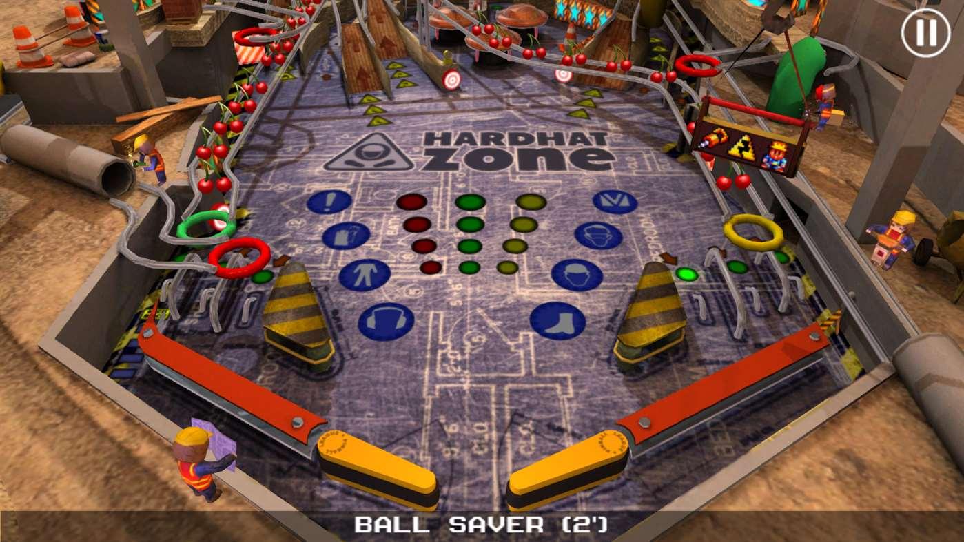 Pinball League: Hardhat Zone za darmo @ Microsoft store