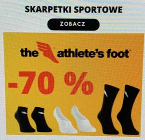 -70% Skarpetki sportowe Athletic Foot