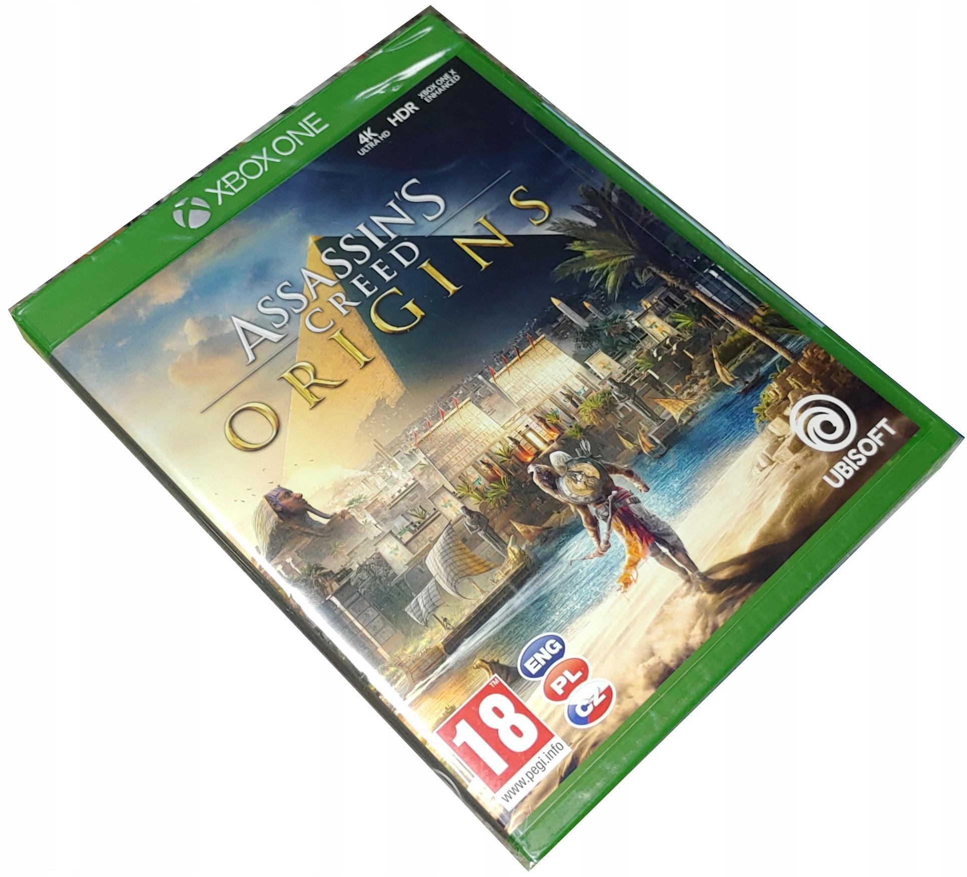 ASSASSINS CREED ORIGINS / PL / XBOX ONE/PS4