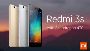 Xiaomi Redmi 3S Metal Body Snapdragon 430 Octa Core FDD LTE 2G RAM 16G ROM 4100 mAh 5inch 13MP Camera