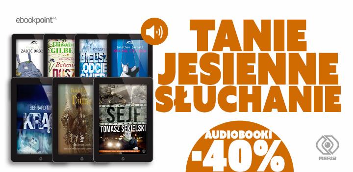Wybrane audiobooki 40% taniej! @ Ebookpoint.pl