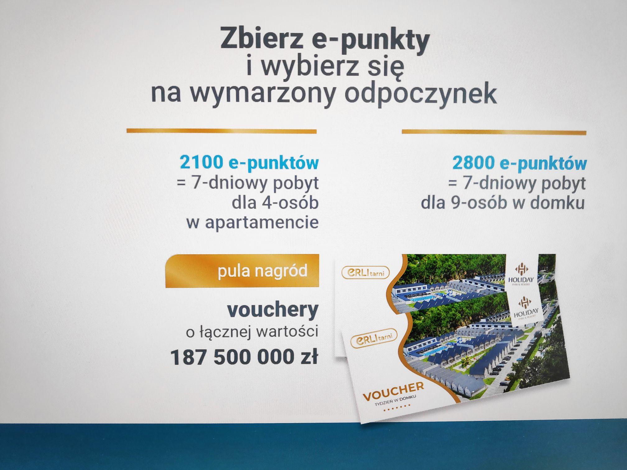 Kupując na erli.pl zyskujesz pobyt w Hotelu Holiday Park & Resort