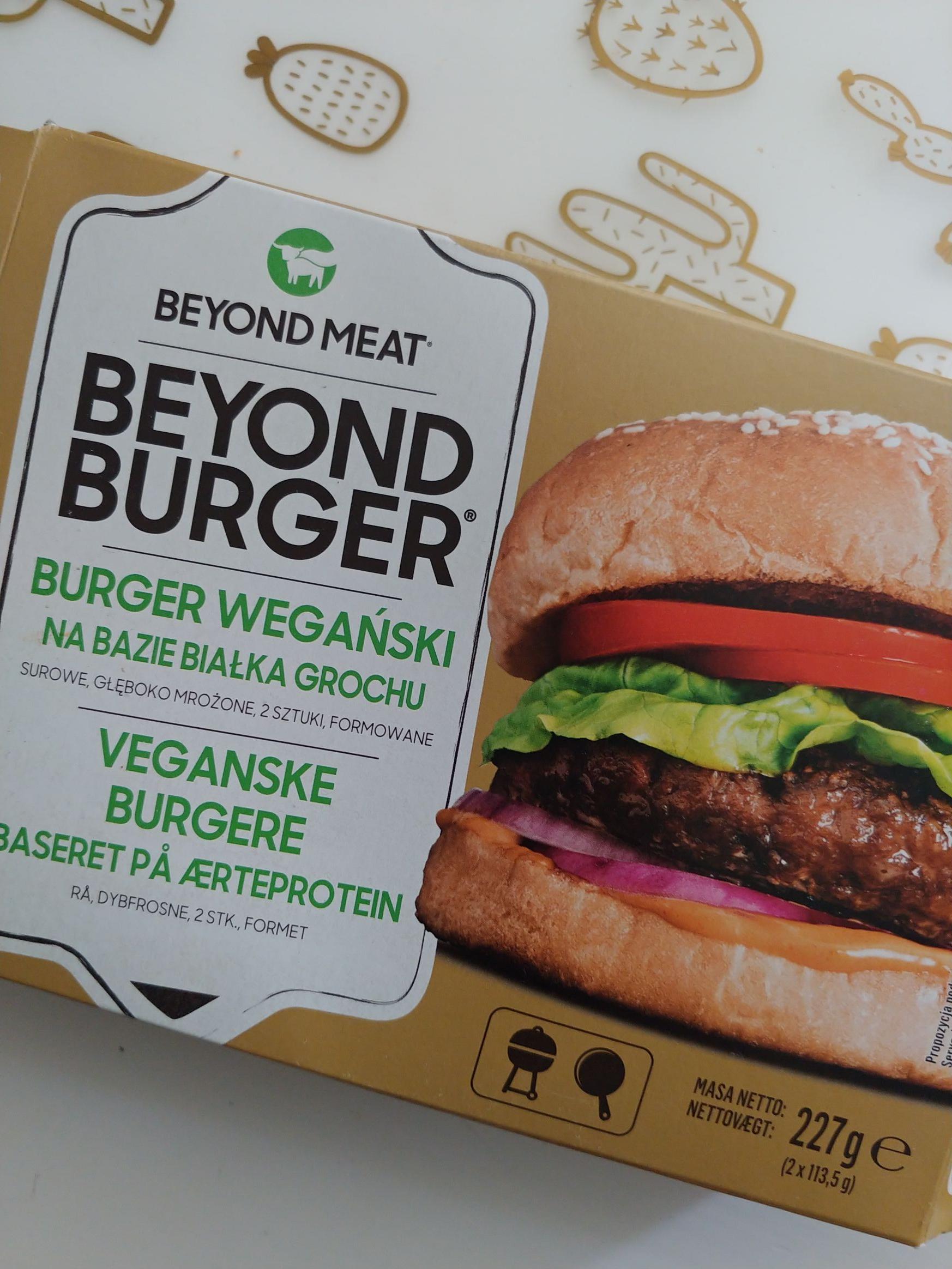 Beyond Meat Burger wegański Lidl Bydgoszcz