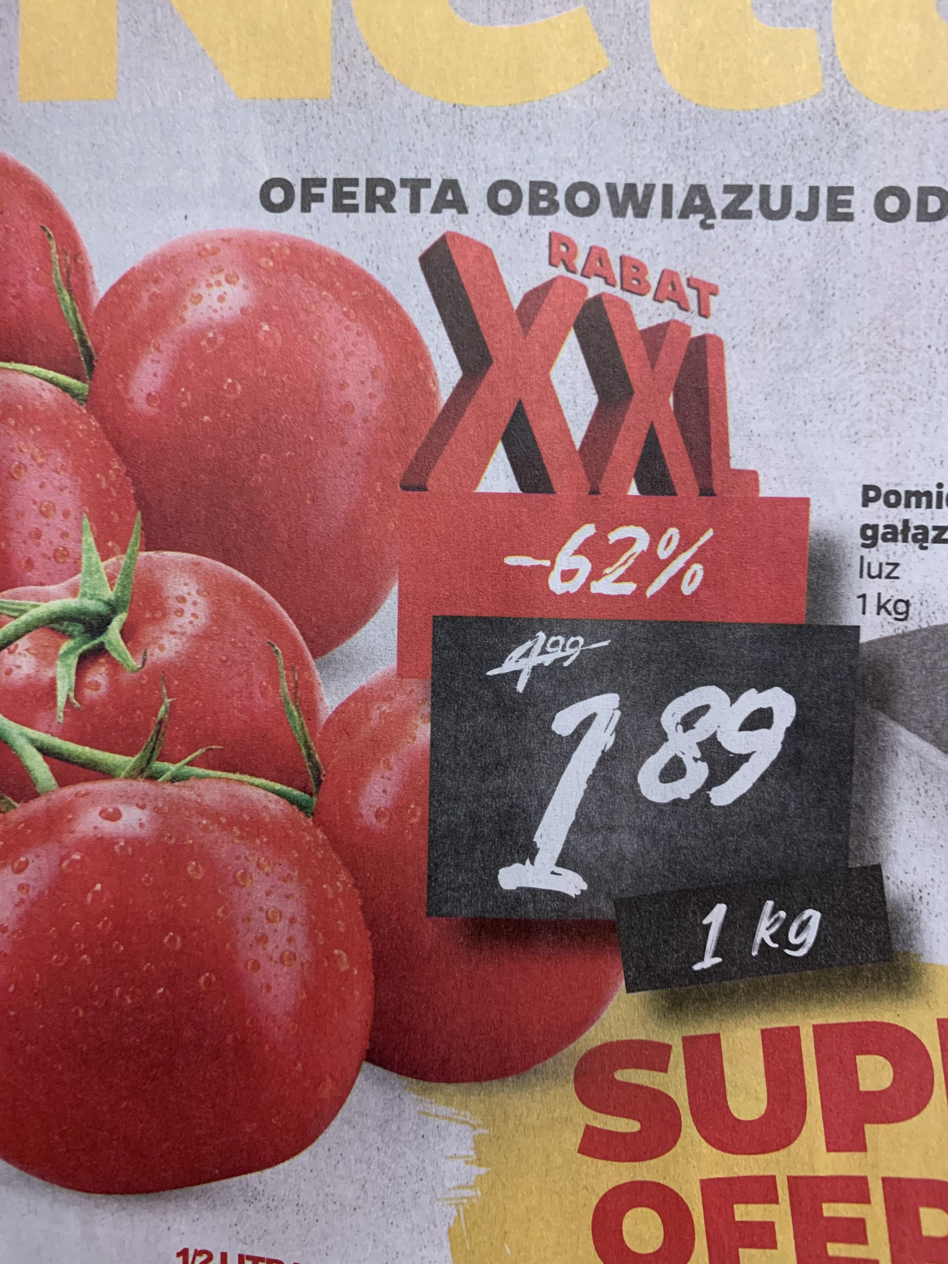 Pomidor gałązka 1kg @Netto