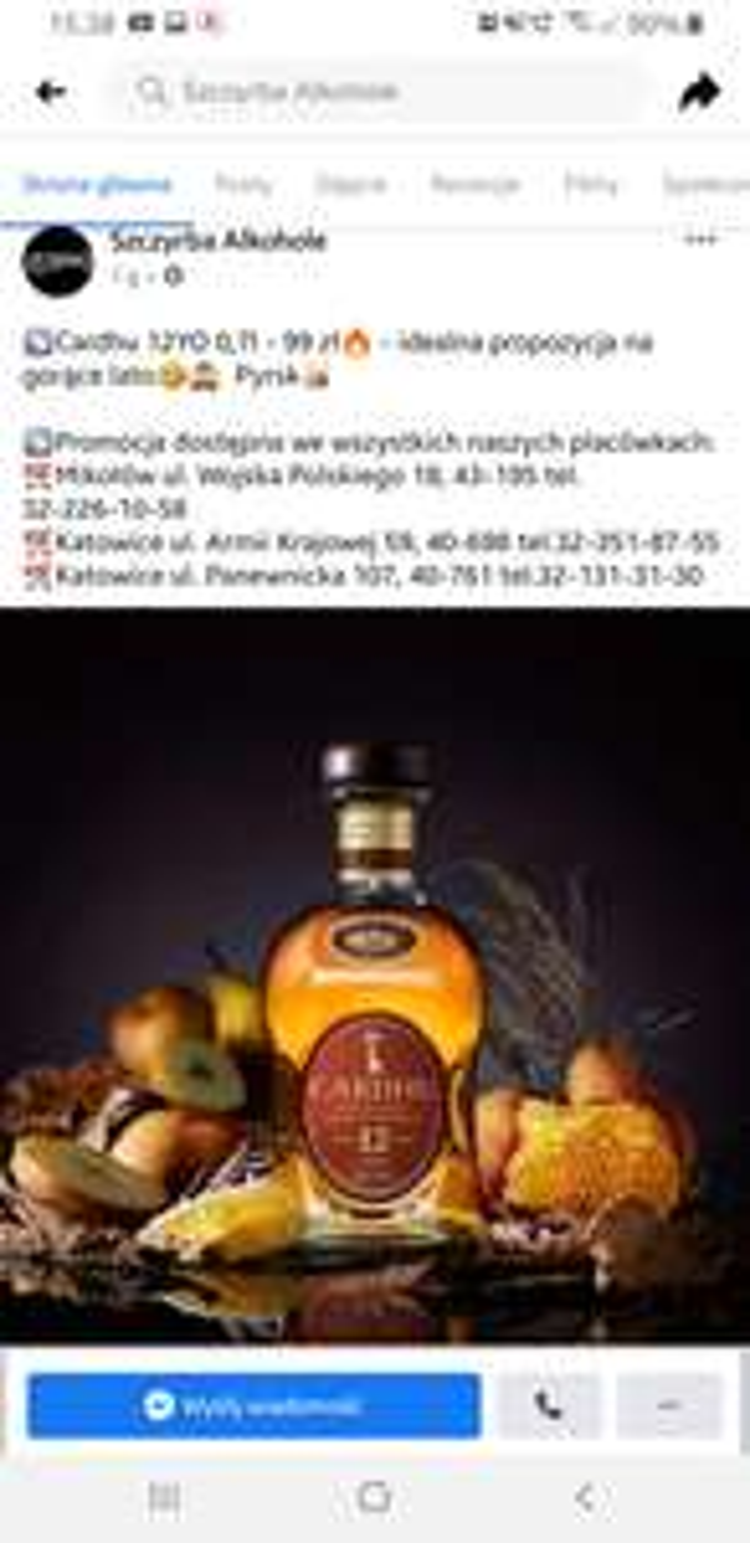 Whisky Single Malt Cardhu 12YO 0,7 Szczyrba Alkohole Slask