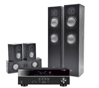 Kino domowe Yamaha HTR-2071 + zestaw kolumn Prism Audio Vienna, 5.1, 675 W